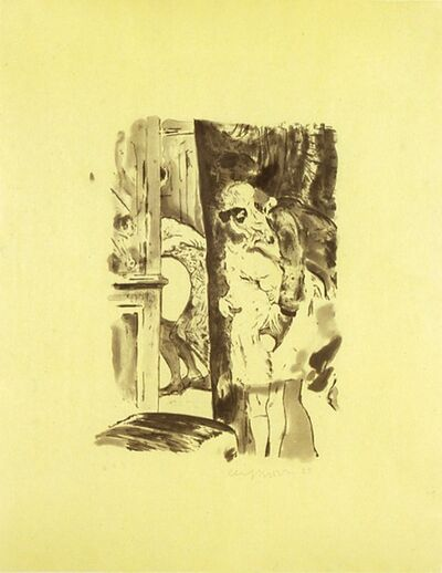 Cecily Brown, 'Paranoia Man in Cheap Shit Room', 2005