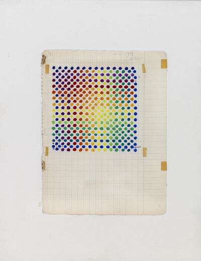 Julio Le Parc, 'Projet couleur n° 5 (Color Project n° 5)', 1959