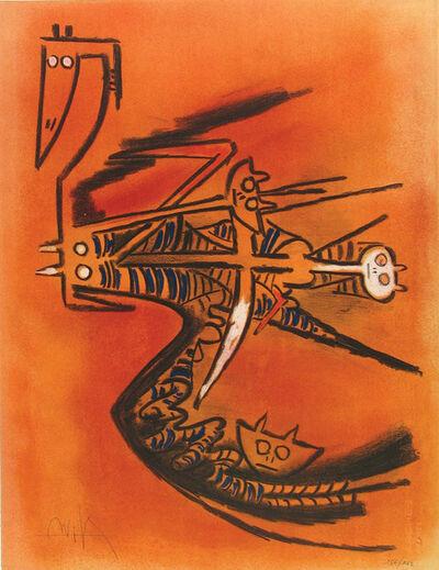 Wifredo Lam, 'Sœur de la Gazelle', 1974