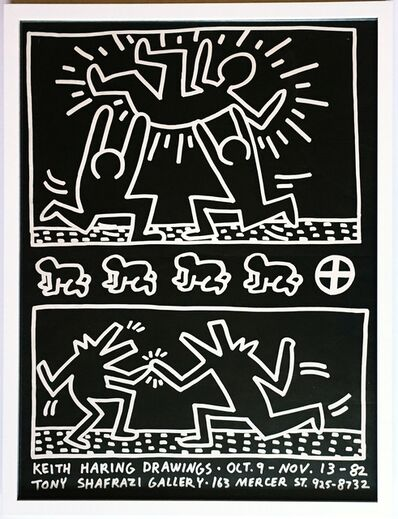 Keith Haring, 'Keith Haring Drawings at Tony Shafrazi Gallery', 1982