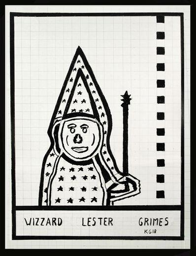 Ken Grimes, 'Wizzard Lester Grimes', 2018