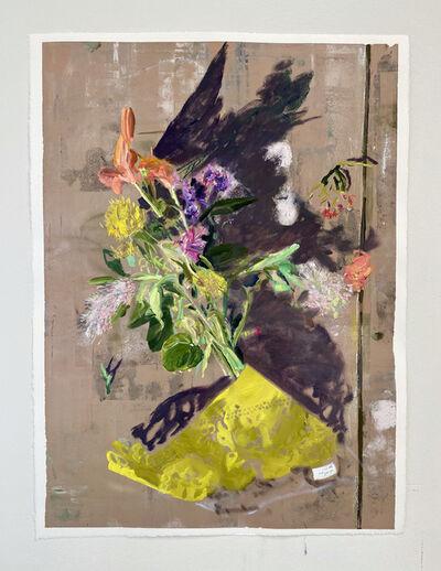 Wyatt Mills, ''Study of Discarded cvs flowers in parking lot' ', 2020