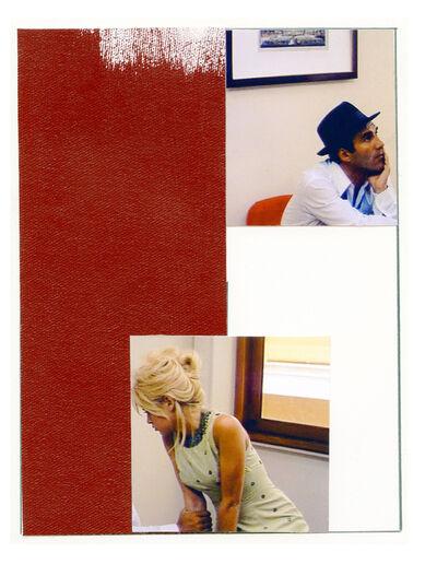 Ian Wallace, 'Enlarged Inkjet Study for Le Mepris I'