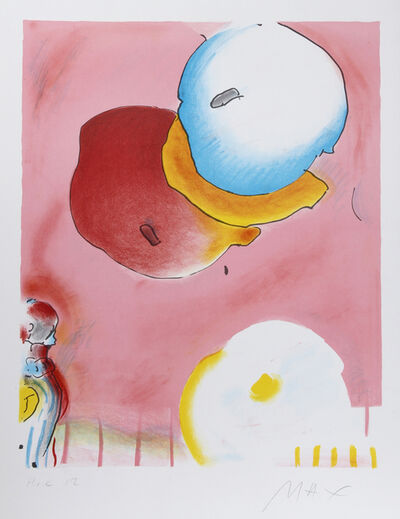 Peter Max, 'Two Floating', 1980