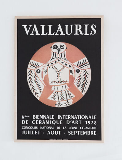 Pablo Picasso, 'Vallauris 6ème Biennale Internationale de la Céramique d'art 1978', 1978