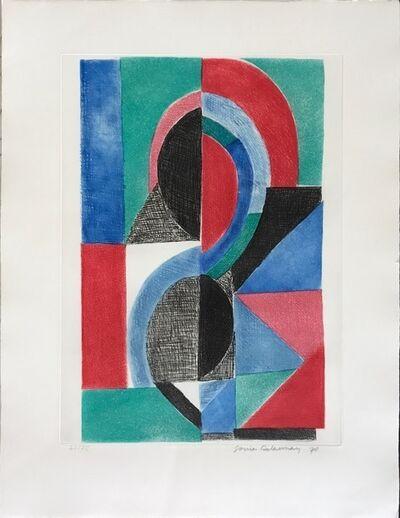 Sonia Delaunay, 'Avec moi-meme', 1970