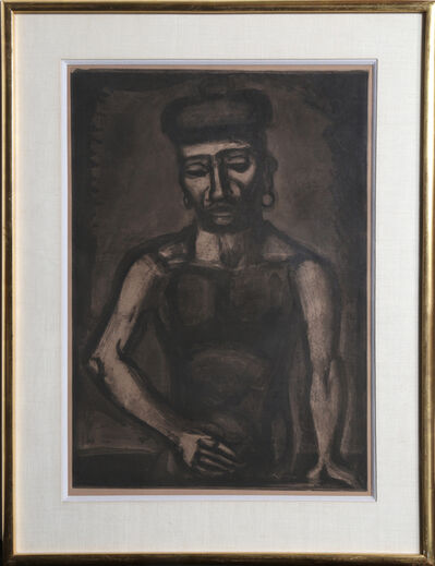 Georges Rouault, ' Jean-Francois ne Chante Alleluia (Jean-Francois Never Sings Alleluia) no. 25 from the Miserere et Guerre series', 1923
