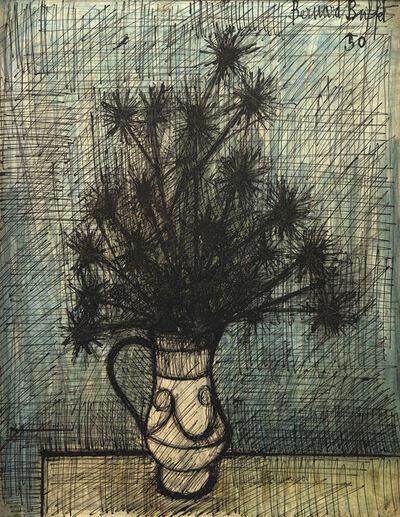 Bernard Buffet, 'Fleurs dans un vase', 1950