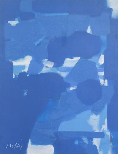 Carl Holty, 'Dark Blue'