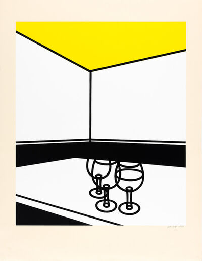 Patrick Caulfield, 'Black And White Cafè (Cristea 31)', 1973