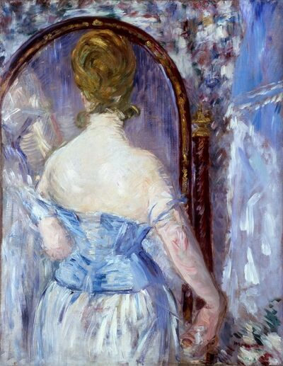 Édouard Manet, 'Before the Mirror (Devant la glace)', 1876