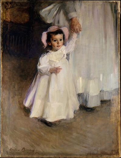 Cecilia Beaux, 'Ernesta (Child with Nurse)', 1894