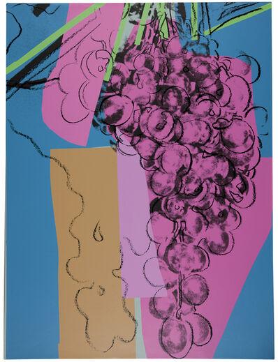 Andy Warhol, 'Grapes (F. & S. II.192)', 1979