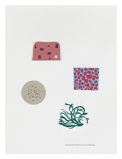Matthew Brannon, 'Lunch Meeting', 2015