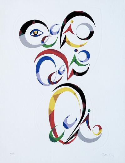 Rafael Alberti, 'Letter Q', 1972