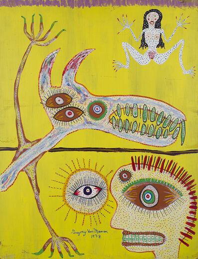 Gregory Van Maanen, 'Untitled (Splayed Figure on Yellow)', 1978