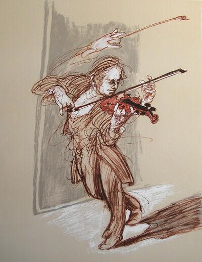 Claude Weisbuch, 'Passacaille pour violon solo', 2010