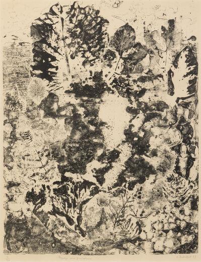 Jean Dubuffet, 'Paysage aux Frondaisons', 1953