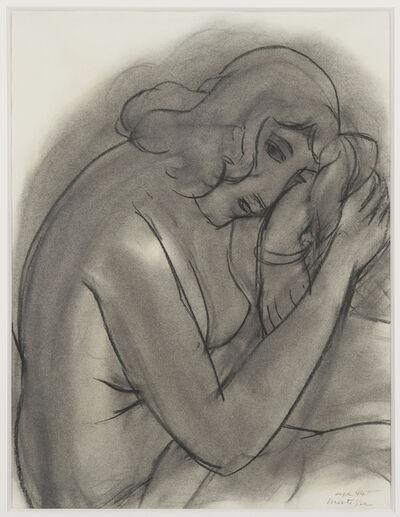 Henri Matisse, 'Portrait d'une femme pensive', 1944