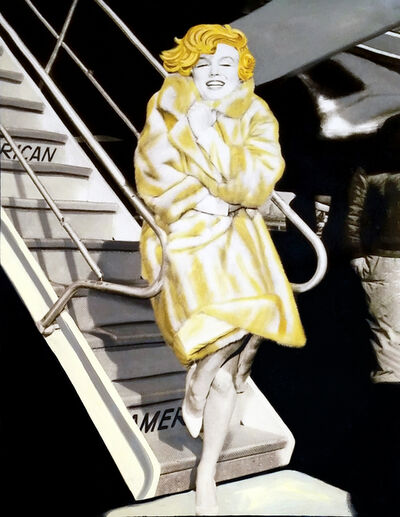 Steve Kaufman, 'MARILYN - BABY IT'S COLD OUTSIDE!', 1995-2005