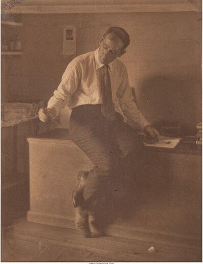 Margaret Watkins, 'Portrait of Clarence White', 1921