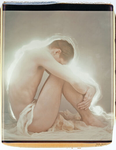 Joyce Tenneson, 'Young Man and Light', 1993