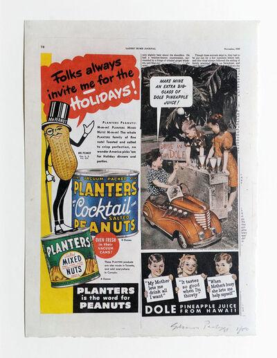 Eduardo Paolozzi, 'Folks Always Invite Me for the Holidays', 1972