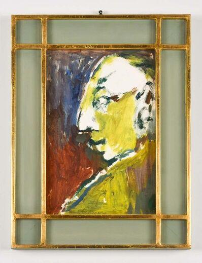 Mino Maccari, 'Portrait ', 1970's