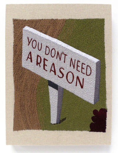 """Peter Frederiksen, '""""You don't need a reason""""  ', 2021"""
