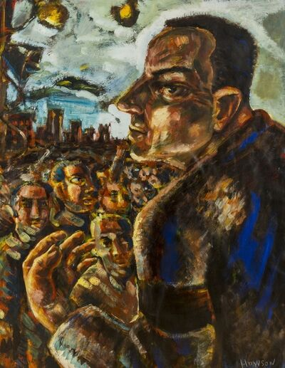 Peter Howson, 'The Unionist'
