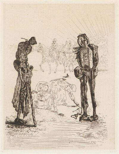 Salvador Dalí, 'Les Chants de Maldoror, Plate 22', 1934