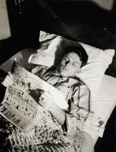 Nancy Sinatra Sr., 'Frank Sinatra - Reading the Funnies', ca. 1939