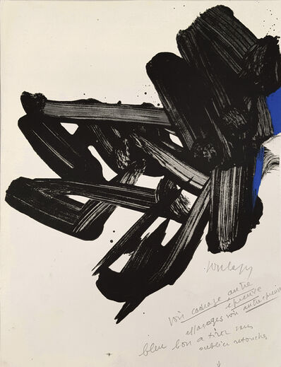 Pierre Soulages, 'Lithographie n° 17', 1963