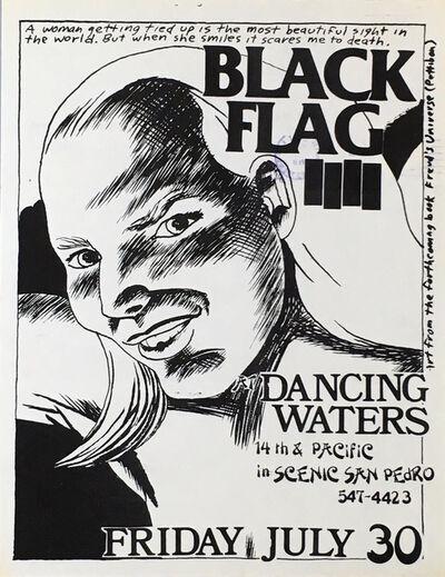 Raymond Pettibon, 'Raymond Pettibon Black Flag flyer ', 1982