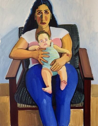 Anna Lukashevsky, 'Meital and her baby', 2013