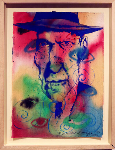 Chris DAZE Ellis, 'Portrait of William S. Burroughs', 1993
