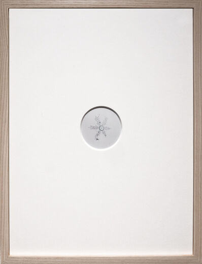 Risaku Suzuki, 'Snow Letter 9', 2009