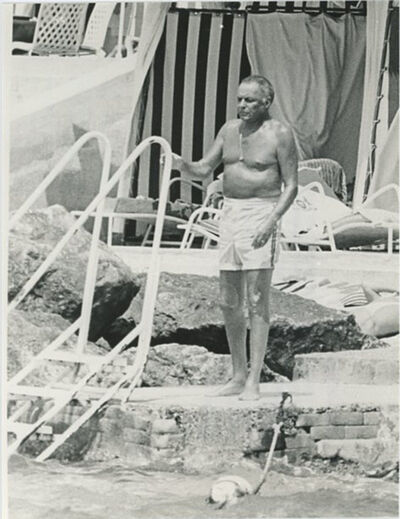 Unknown, 'Frank Sinatra on Vacation in Italy', ca. 1980's