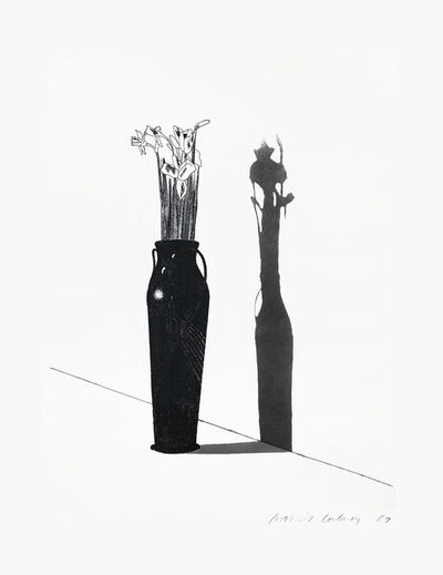 David Hockney, 'Vase and Flowers ', 1969