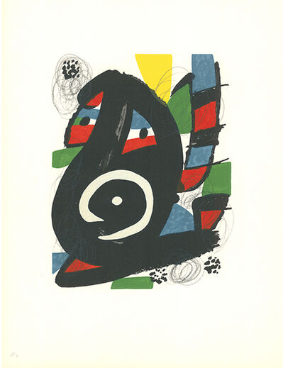 Joan Miró, 'La mélodie acide - 14', 1980