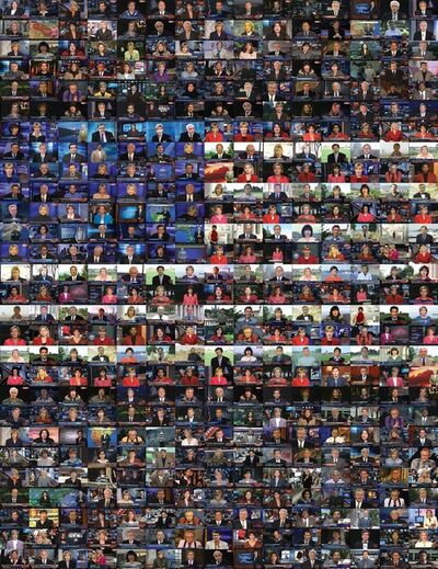 Omer Fast, 'CNN Concatenated [CNN-Enchaînement]', 2012