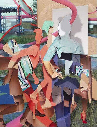 Pieter Schoolwerth, 'Random Winner', 2019
