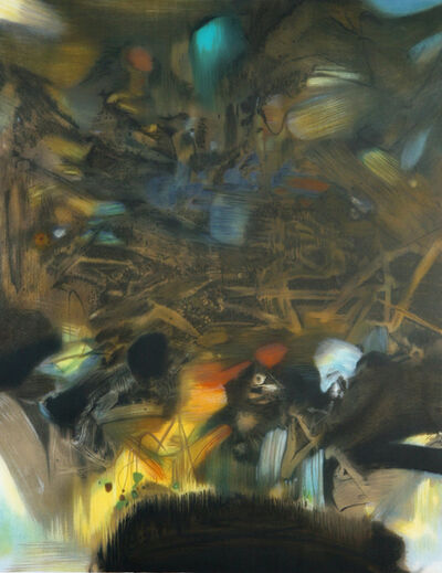 Chu Teh-Chun, 'Au Commencement', 2004