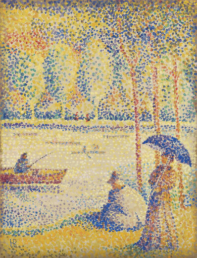 Hippolyte Petitjean, 'Promenade au bord de l'eau', Early 1890s