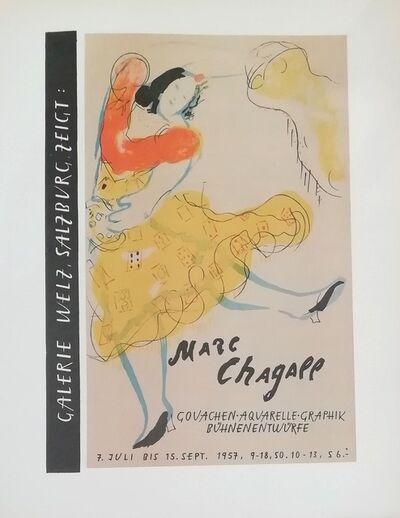 Marc Chagall, 'Gouachen Aquarelle', 1959