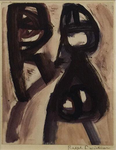 Ralph Wickiser, 'Alone', 1950