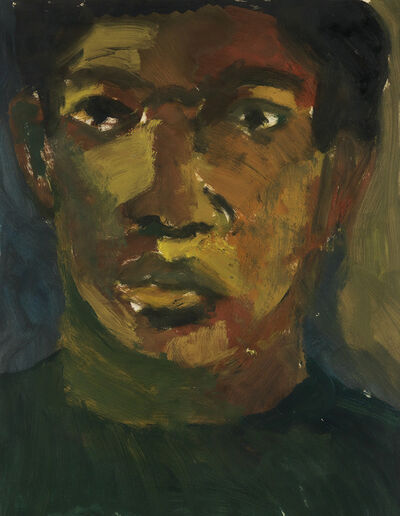 Bob Thompson, 'Self Portrait.', 1959