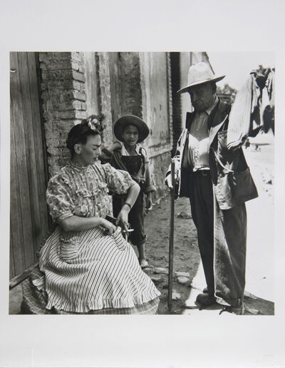 Leo Matiz, 'Frida Kahlo VIII', circa 1945
