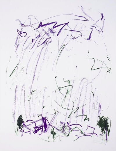 Joan Mitchell, 'Sides of a River III', 1981