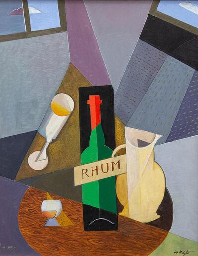 Bela de Kristo, 'Composition cubiste à la bouteille de Rhum', 1920-2006